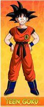Teenage Goku in Dragon Ball Extremeus