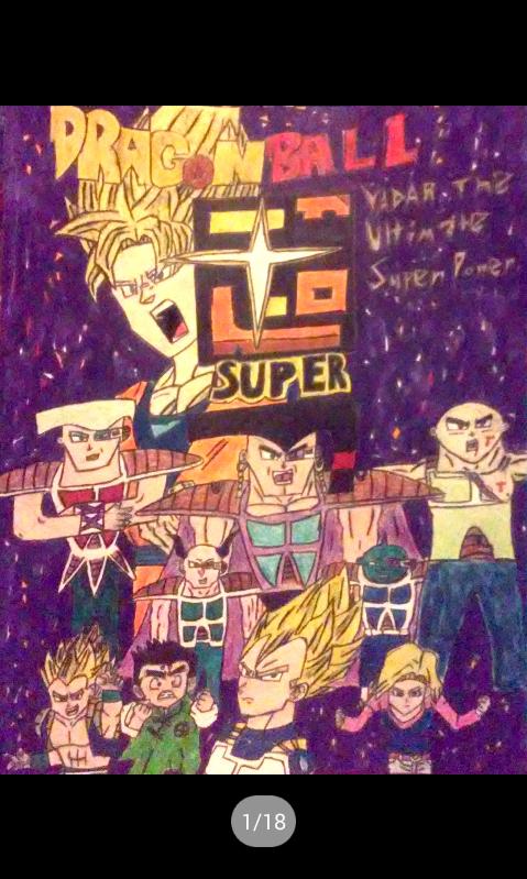 Dragon Ball Super:Vadar The Ultimate Super Power