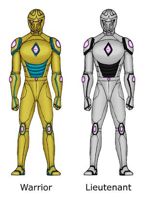 Mrovian naval armor