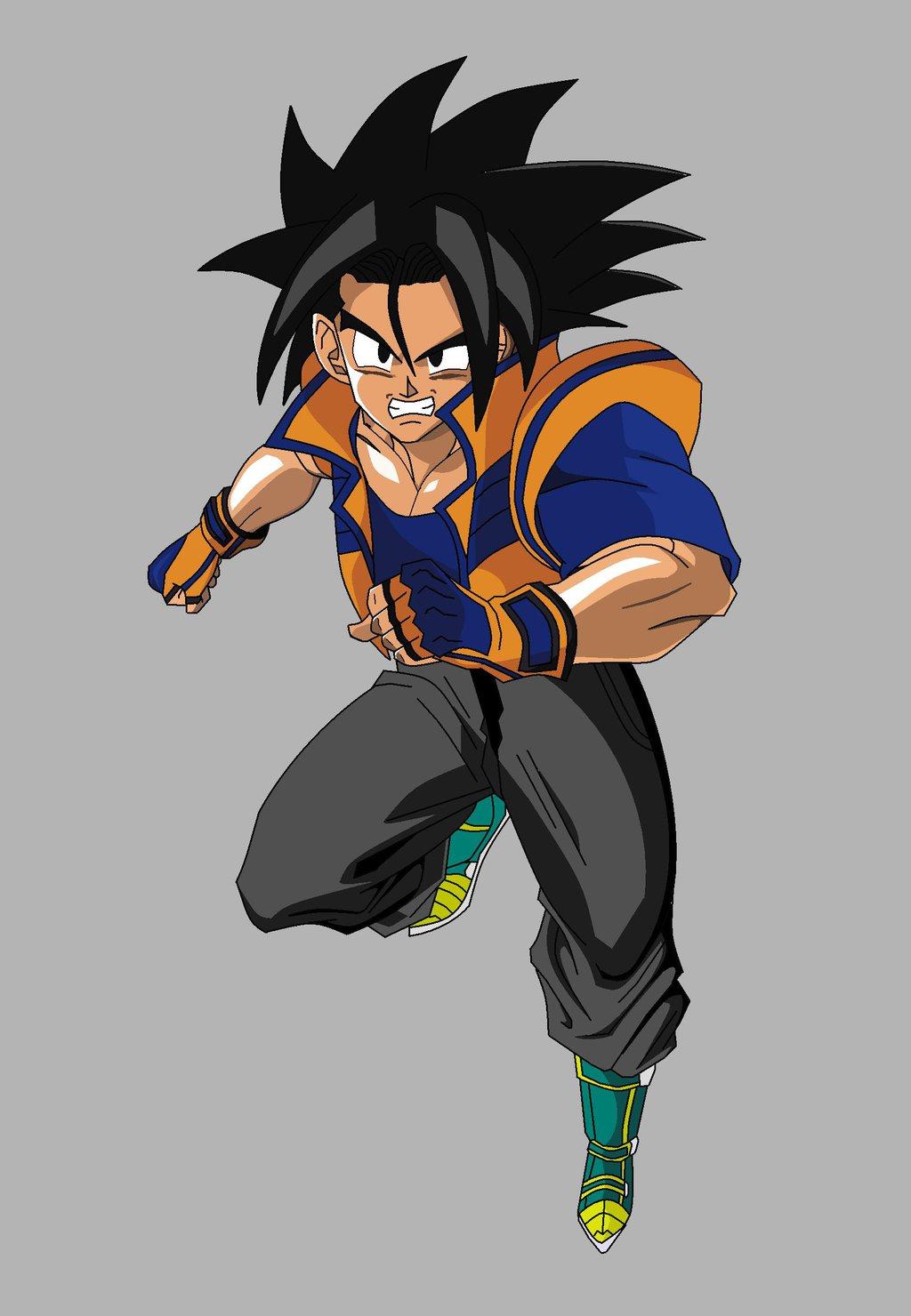 Goken Finale   Dragonball Fanon Wiki   FANDOM powered by Wikia Dragon Ball Z Characters Goku Drawing