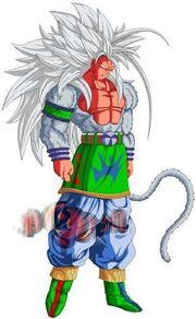 Full Powered Super Saiyan 5 Goku