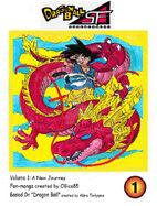 Dragon Ball SF Volume 1 Cover