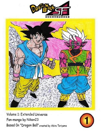 Dragon Ball SF Volume 1 Cover