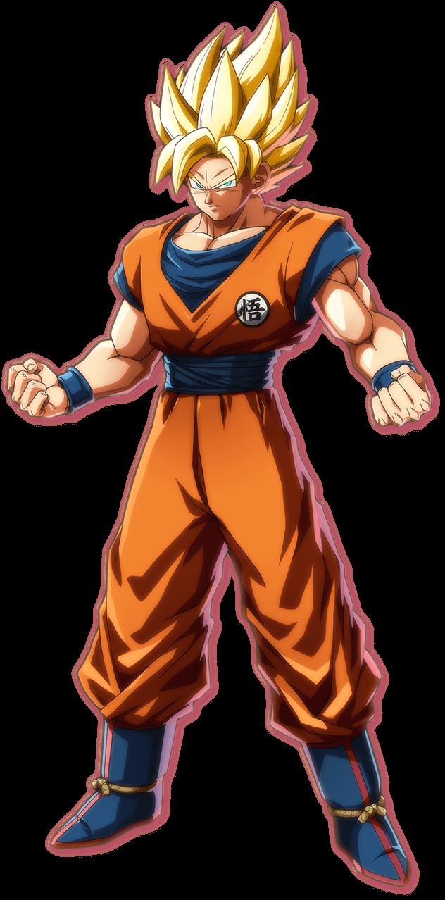 Goku (Super Saiyan) | Dragon Ball FighterZ Wiki | FANDOM powered by