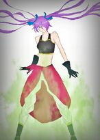 Kikumi - Mystic Saiyan Form