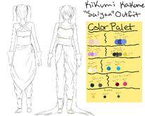 Kikumi - ''Saiyan'' Clothing