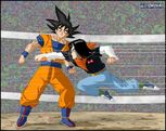 Dragon Ball Multiverse(Goku) Avoiding Android 17