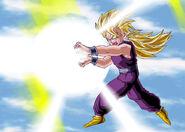 Dragon Ball Multiverse(Teen Gohan-Super Saiyan) Kamehameha