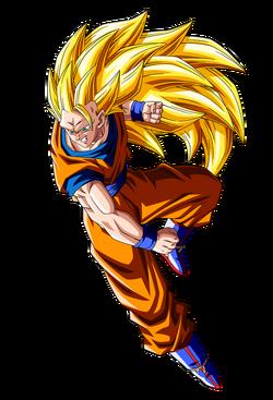 Goku ssj3 render by Kumix