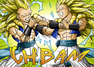 Super Saiyajin 3 Gotenks Gotenks