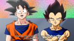 Dragon Ball Multiverse(Goku) Talking To Vegeta