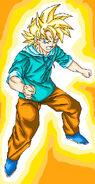 Dragon Ball Fan Fiction(Teenager Goten-Super Saiyan) On Guard