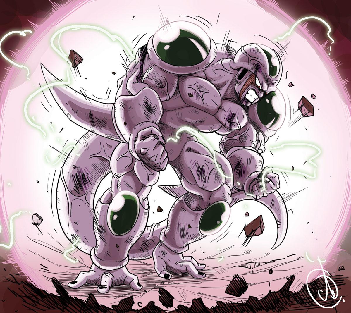 Image - Dragon Ball Multiverse(Ice Kurima-True Form At 100 ...