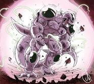 Dragon Ball Multiverse(Ice Kurima-True Form At 100% Percent)