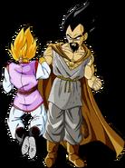 Dragon Ball Multiverse(King Vegeta) Killing A Varga
