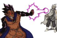 Dragon Ball Multiverse(King Vegeta-Incomplete Great Ape) Killing His Father