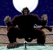 Dragon Ball Multiverse(King Vegeta-Great Ape) Vs Vegeta