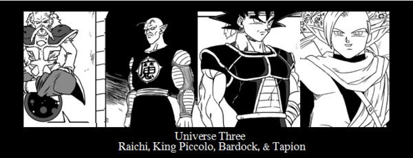 Universe3 Roster