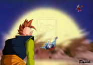Dragon Ball Multiverse(Southern Supreme Kai) And Fellow Kai's Losing To Romanesco(Legendary Super Saiyan)
