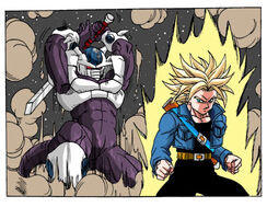 Trunks vs cooler by pawcioky