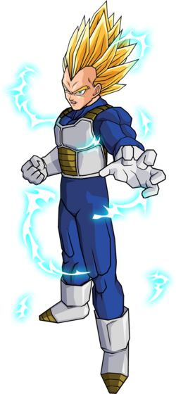 Vegeta ssj2 android saga by db own universe arts-d3gp9me