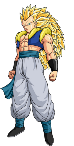 Adult gotenks ssj3 by spongeboss-d35hiju