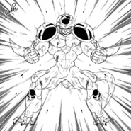 Dragon Ball Multiverse(Ice Kurima-True Form At 100% Percent) On Guard