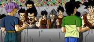 Dragon Ball Multiverse(King Vegeta) Revealing his father to the half-breeds