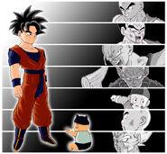 Dragon Ball Multiverse(Teen Gohan) Finding His Successor