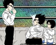 Dragon Ball Multiverse(Mystic Gohan) Interrupting His Counterpart And His Wife