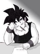 Dragon Ball Multiverse(Teen Gohan) Thinking