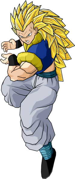 Adult gotenks ssj3 by db own universe arts-d480ynd