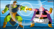Dragon Ball Multiverse(Southern Supreme Kai) Vs Majin Buu