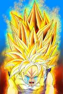 Dragon Ball Multiverse(Teen Gohan-Super Saiyan) Crying