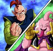 Dragon Ball Multiverse(Southern Supreme Kai) Challenging Majin Buu