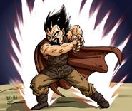 Dragon Ball Multiverse(King Vegeta) Galick Gun