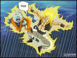 Dragon Ball Multiverse(Gotenks-Super Saiyan) Vs Neko Majin