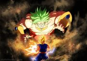 Broly vs. Vegetto
