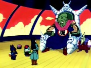 King piccolo on his throne