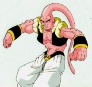 Buu after absorbing Gotenks and Piccolo