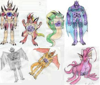 Los 7 Dragones Malignos