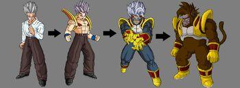 Evolución de Baby-Gohan