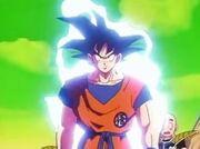 Goku Moving To Fight Frieza