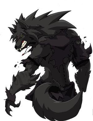 Werewolf by jlonewolf