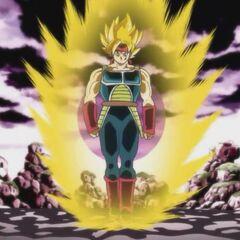 Супер Сайян Бардок в OVA