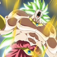 Броли трансформируется в Легендарного Супер Сайяна 3 (спэшл-муви к восьмой миссии, <i>Dragon Ball Heroes</i>)