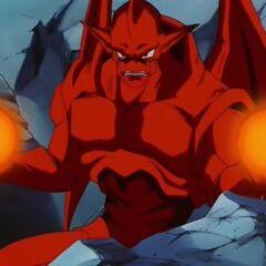 Су Шинрон заряжает энергетические сферы после атаки Гоку