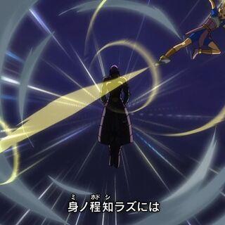 Кабе и Хит в опенинге сериала Dragon Ball Super