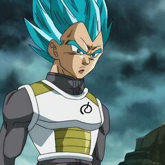 Супер Сайян Голубой Веджета без ауры
