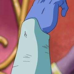 Фрост объявляет что игла является частью его тела
